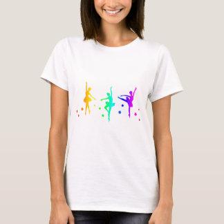 Ballet del arco iris camiseta