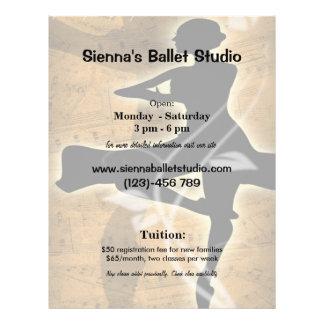 Ballet Flyer A Todo Color