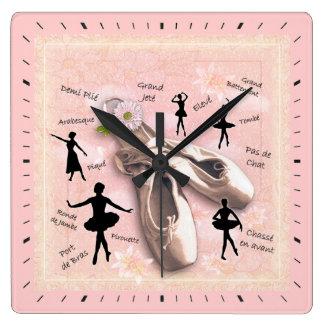 Ballet Reloj Cuadrado