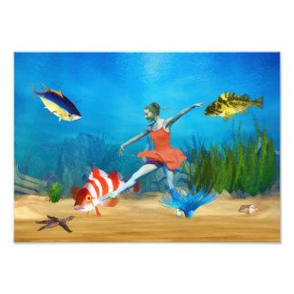 Ballet submarino arte fotográfico