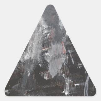 Ballonface de S.B. Eazle Pegatina Triangular