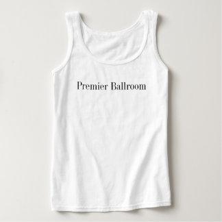 Ballroom primero básico el Tank Top White