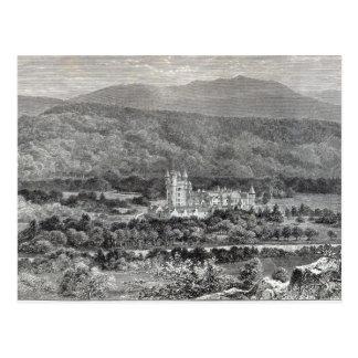 """Balmoral, a partir de la """"hora del ocio"""", 1888 postal"""
