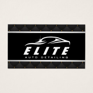 Balneario auto de lujo de detalle auto automotriz tarjeta de negocios