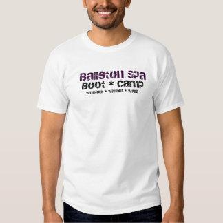 Balneario de Ballston, bota * campo, entrenamiento Camisetas