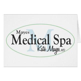 Balneario médico de Mayes Tarjetas