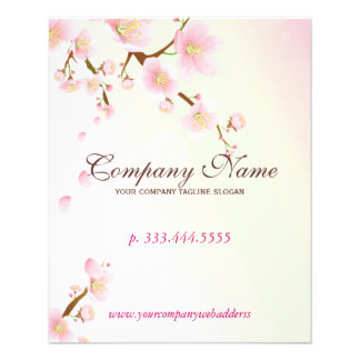 Balneario natural suavemente del rosa y blanco del folleto 11,4 x 14,2 cm