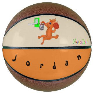 Balón De Baloncesto Baloncesto feliz personalizado del baloncesto el