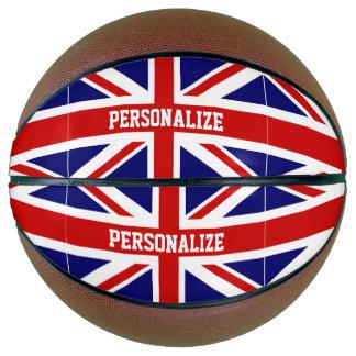 Balón De Baloncesto Bandera británica de Union Jack del baloncesto de