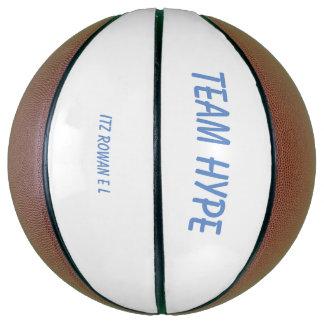 Balón De Baloncesto Bola de la cesta del bombo del equipo mini