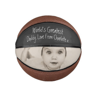 Balón De Baloncesto Diseñe su propio día de padres personalizado