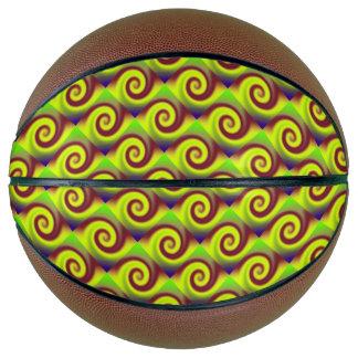 Balón De Baloncesto Extracto maravilloso del remolino de Brown