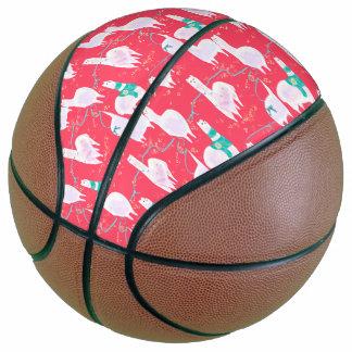 Balón De Baloncesto Fondo lindo del rojo del ejemplo de Perú de las