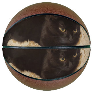 Balón De Baloncesto Gato negro Roxie