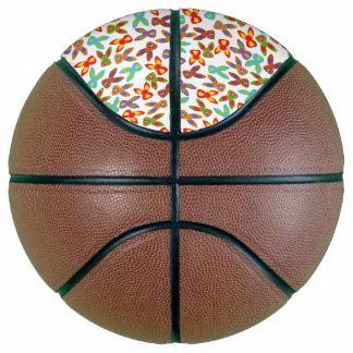 Balón De Baloncesto Modelo psico de Pascua colorido