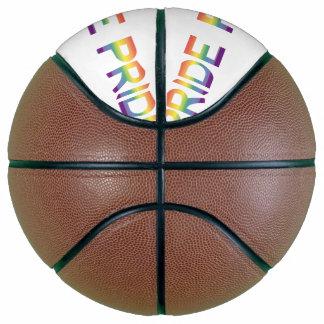 Balón De Baloncesto Orgullo de la bandera del arco iris