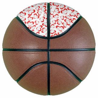 Balón De Baloncesto Palomas de paz del ejemplo del modelo con el