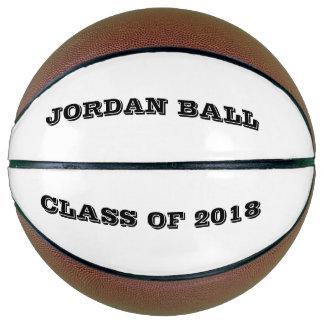Balón De Baloncesto Regalo personalizado del deporte del año de la