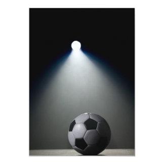Balón de fútbol 2 invitación 12,7 x 17,8 cm