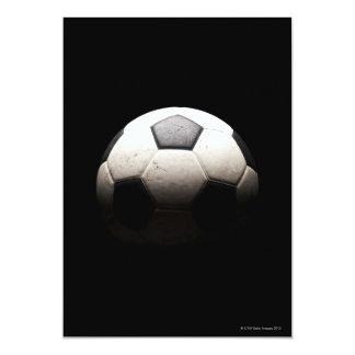 Balón de fútbol 3 invitación 12,7 x 17,8 cm