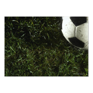 Balón de fútbol 4 invitación 12,7 x 17,8 cm