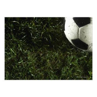 Balón de fútbol 4 comunicados personalizados