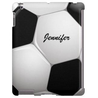 Balón de fútbol adaptable del fútbol funda para iPad