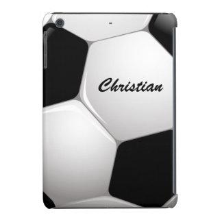 Balón de fútbol adaptable del fútbol funda de iPad mini