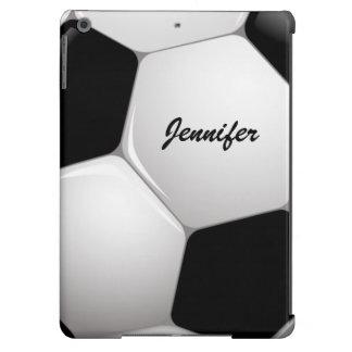 Balón de fútbol adaptable del fútbol funda para iPad air