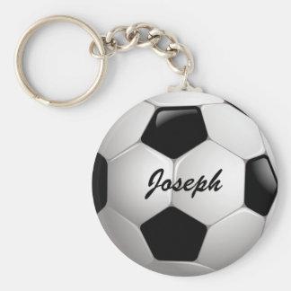 Balón de fútbol adaptable del fútbol llavero redondo tipo chapa