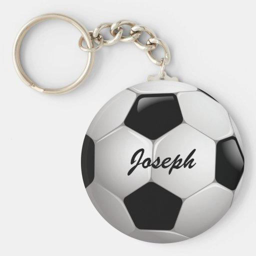 Balón de fútbol adaptable llaveros
