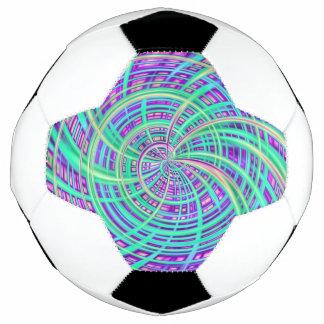 Balón De Fútbol Aguamarina feliz (c)