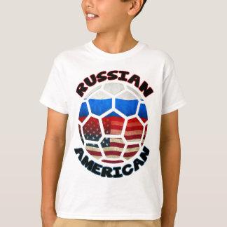 Balón de fútbol americano ruso camiseta