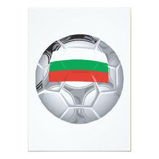 Balón de fútbol búlgaro comunicados personales