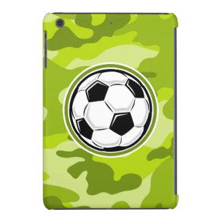 Balón de fútbol; camo verde claro, camuflaje fundas de iPad mini