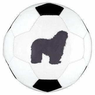 Balón De Fútbol color del bergamasco_silhouette