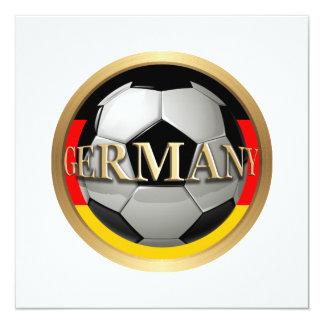 Balón de fútbol de Alemania Comunicado Personal