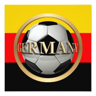 Balón de fútbol de Alemania Anuncio