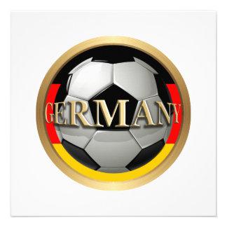 Balón de fútbol de Alemania