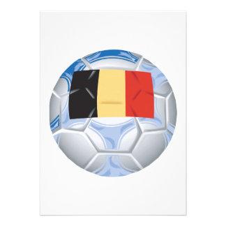 Balón de fútbol de Bélgica Comunicados