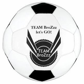 Balón de fútbol de BroZzz del EQUIPO