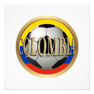Balón de fútbol de Colombia