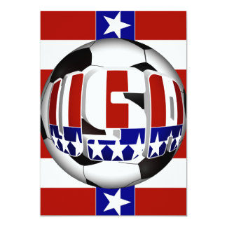 Balón de fútbol de los E.E.U.U. Comunicados Personalizados