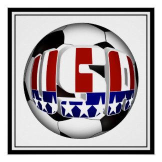 Balón de fútbol de los E.E.U.U.