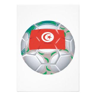 Balón de fútbol de Tunisan Comunicados
