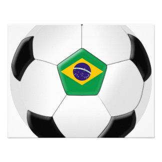 Balón de fútbol del Brasil Comunicado Personal