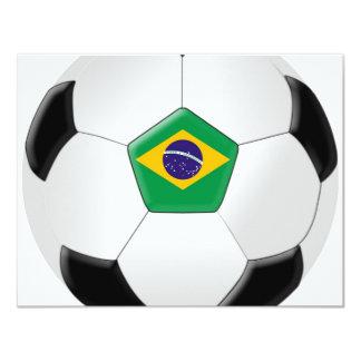 Balón de fútbol del Brasil