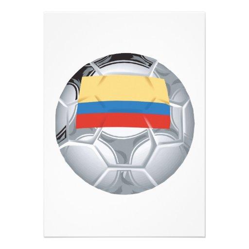 Balón de fútbol del Ecuadorian Invitaciones Personales