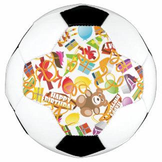 Balón De Fútbol Ejemplo del modelo del feliz cumpleaños