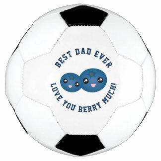 Balón De Fútbol El mejor amor del día de padre del papá nunca